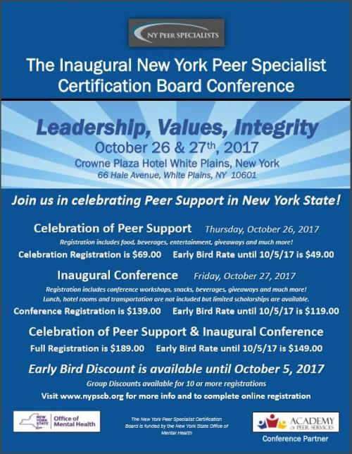 NYPSCB Conference