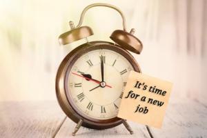 New job (clock)